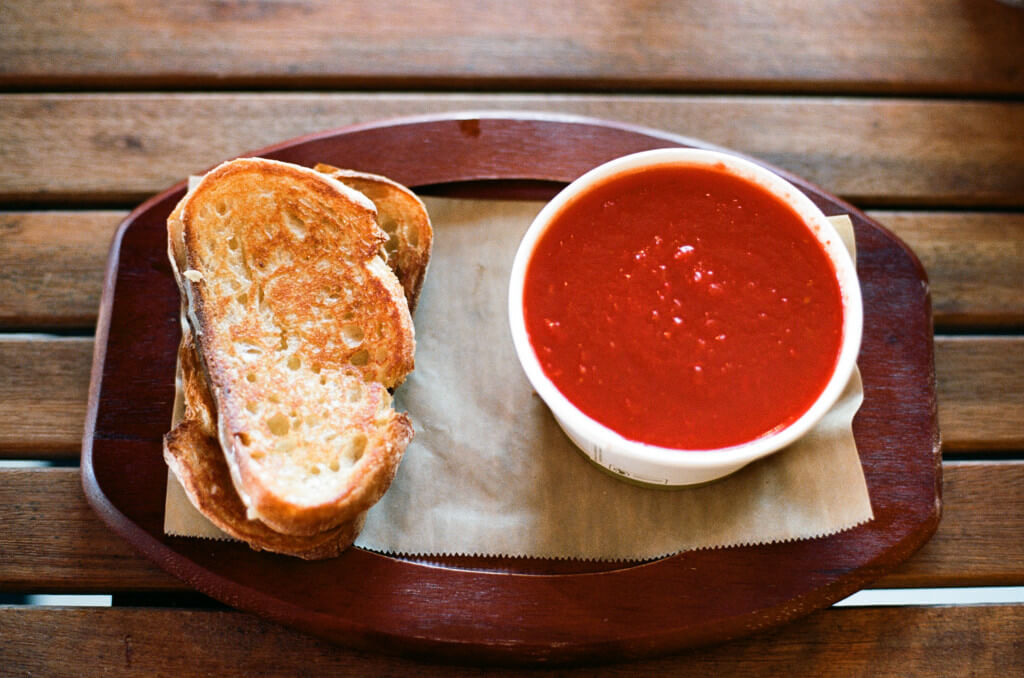 Grilled Cheese and Tomato Soup by Neil Conway on Flickr - sugary foods that are making you fat