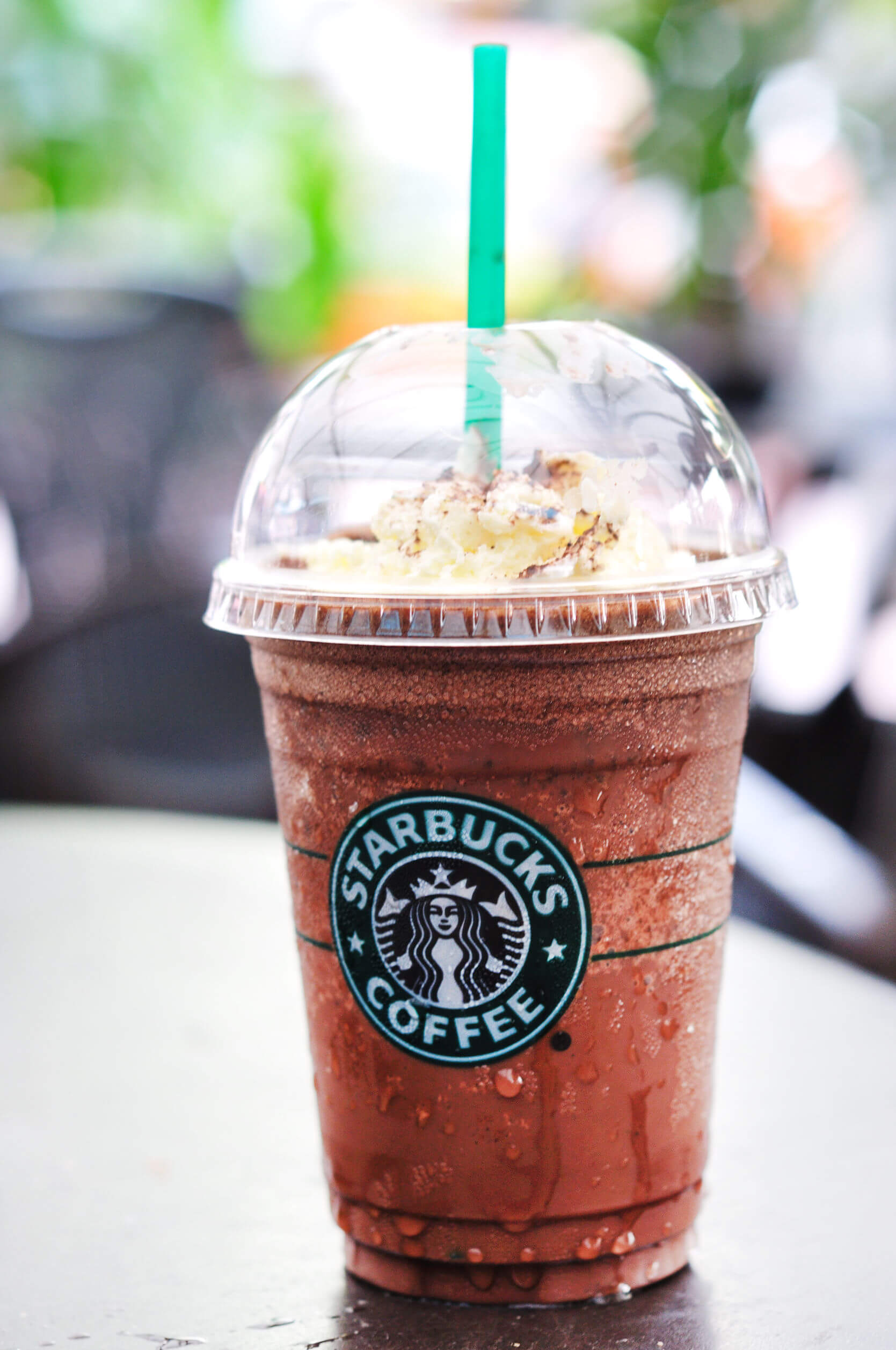 Starbucks Frappucino - Another food high in sugar making you fat and causing Type II Diabetes