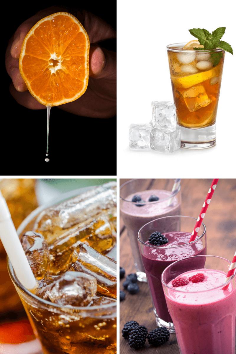8 sugary drinks