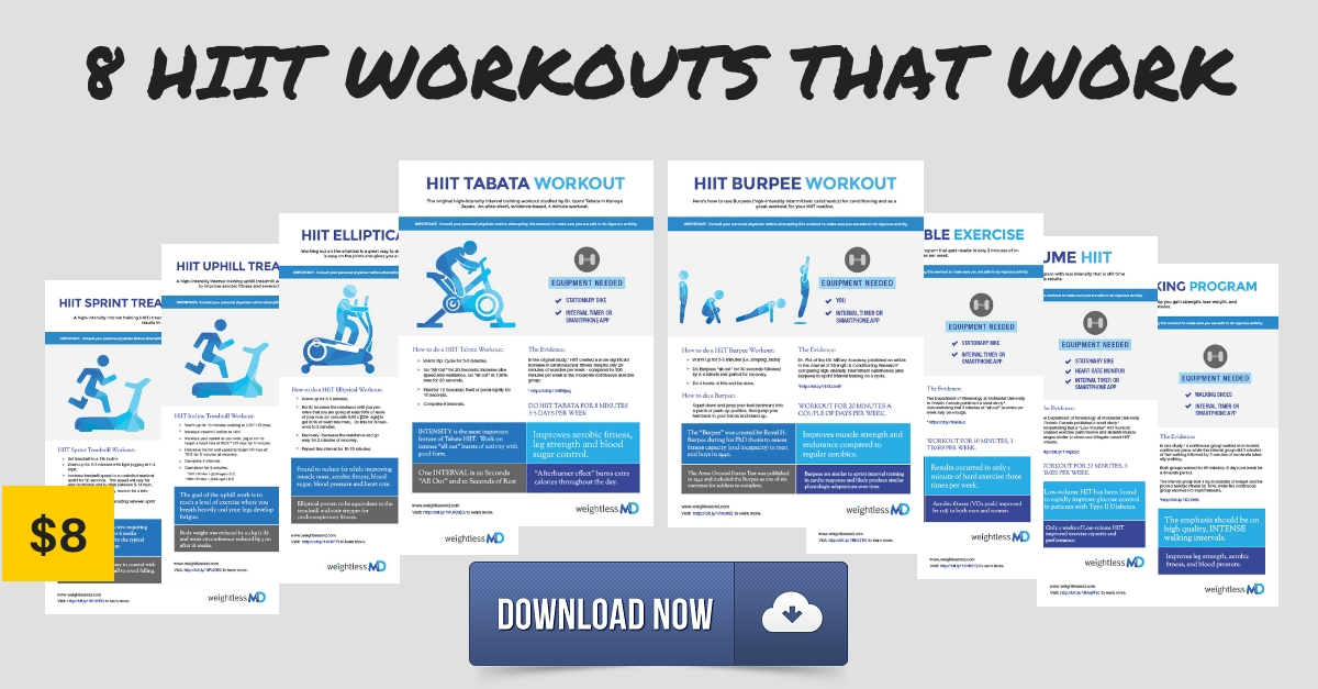 photo about Printable Hiit Workouts titled How in the direction of do a HIIT Elliptical Exercise session - weightlessMD